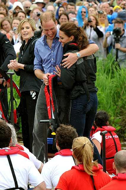 Принц Уильям и Кейт Миддлтон сегодня
